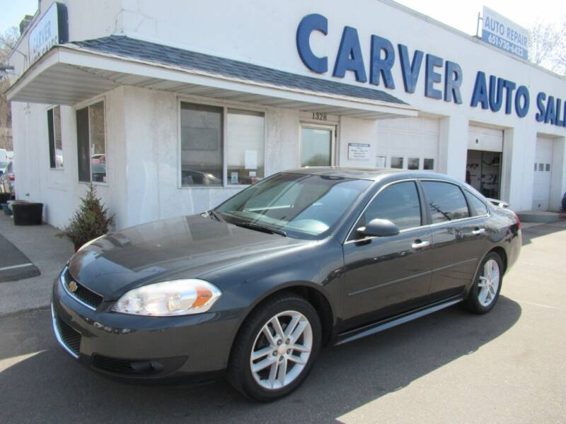 2013 Chevrolet Impala for sale at Carver Auto Sales in Saint Paul MN