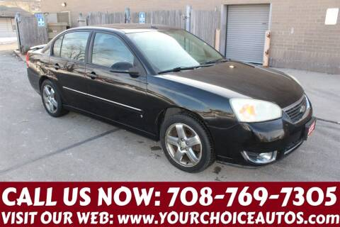 2006 Chevrolet Malibu for sale at Your Choice Autos in Posen IL