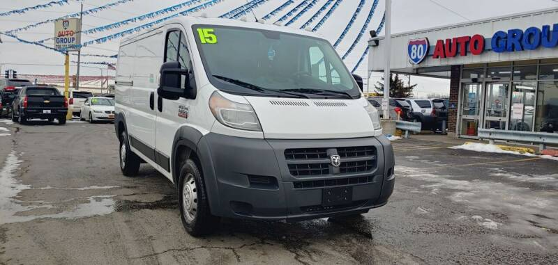2015 RAM ProMaster Cargo for sale at I-80 Auto Sales in Hazel Crest IL