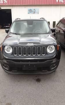 2015 Jeep Renegade for sale at Mathews Used Cars, Inc. in Crawford GA