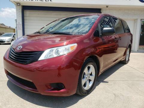 2014 Toyota Sienna for sale at Best Royal Car Sales in Dallas TX