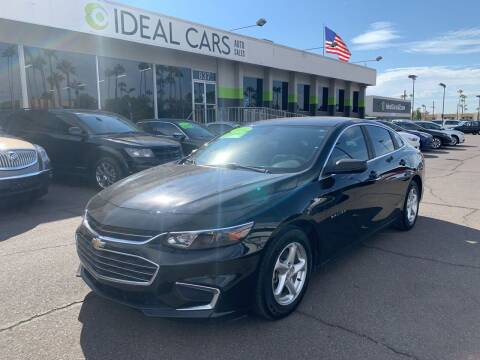 2016 Chevrolet Malibu for sale at Ideal Cars Broadway in Mesa AZ