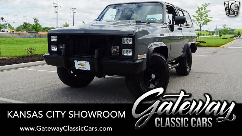 1986 Chevrolet Blazer for sale in Olathe, KS
