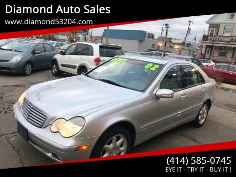 2002 Mercedes-Benz C-Class for sale at Diamond Auto Sales in Milwaukee WI