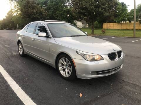 2009 BMW 5 Series for sale at Alfa Auto Sales in Raleigh NC