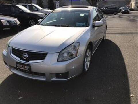 2008 Nissan Maxima for sale at Wilton Auto Park.com in Wilton CT