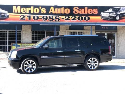 2007 GMC Yukon XL for sale at Merlo's Auto Sales LLC in San Antonio TX