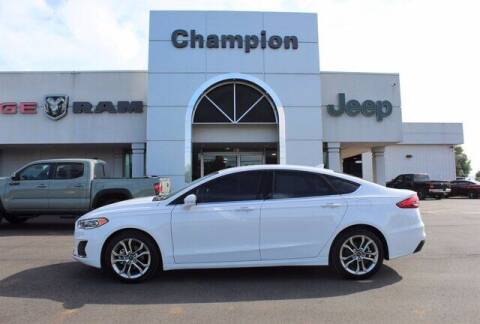 2020 Ford Fusion for sale at Champion Chevrolet in Athens AL