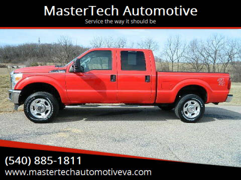 2016 Ford F-250 Super Duty for sale at MasterTech Automotive in Staunton VA