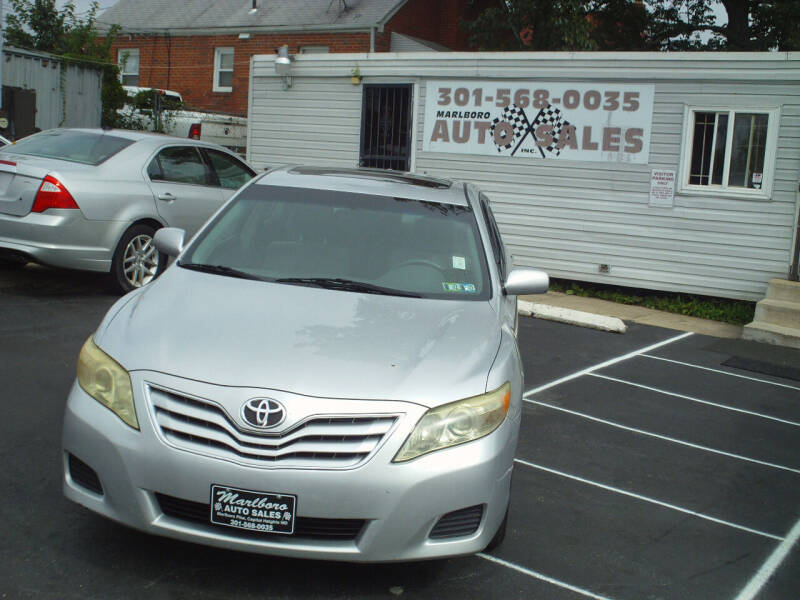 2010 Toyota Camry for sale at Marlboro Auto Sales in Capitol Heights MD