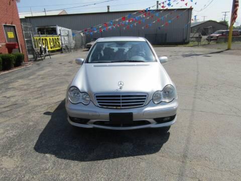 2007 Mercedes-Benz C-Class for sale at SCHERERVILLE AUTO SALES in Schererville IN