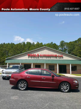 2008 Buick LaCrosse for sale at Poole Automotive in Laurinburg NC