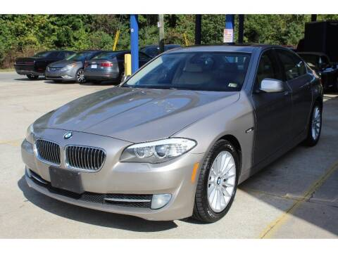 2011 BMW 5 Series for sale at Inline Auto Sales in Fuquay Varina NC