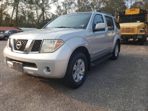 2006 Nissan Pathfinder for sale at Ona Used Auto Sales in Ona WV