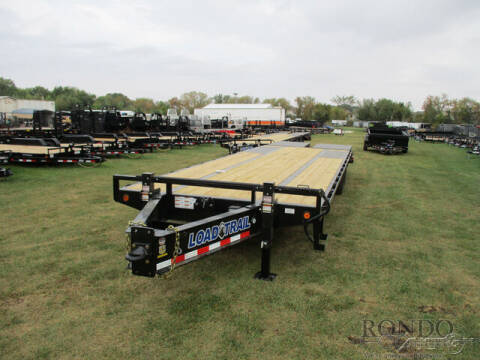 2022 Load Trail Equipment Deckover PP0230102 for sale at Rondo Truck & Trailer in Sycamore IL