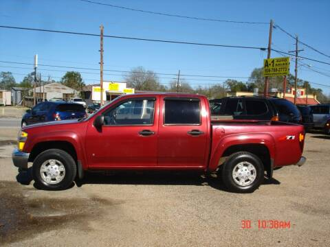 2006 Chevrolet Colorado for sale at A-1 Auto Sales in Conroe TX