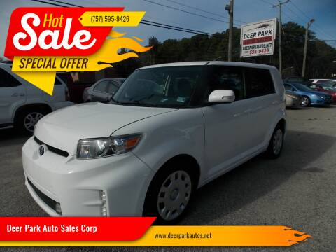2015 Scion xB for sale at Deer Park Auto Sales Corp in Newport News VA