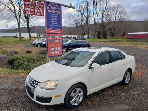 2008 Volkswagen Jetta for sale at Wahl to Wahl Auto in Cooperstown NY