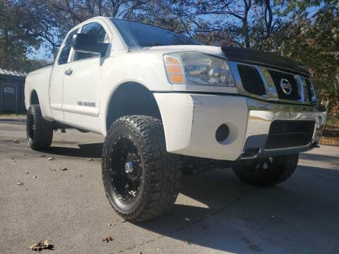 2007 Nissan Titan for sale at Thornhill Motor Company in Hudson Oaks, TX