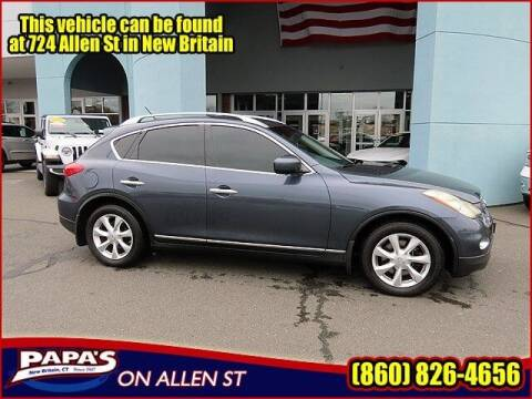 2010 Infiniti EX35 for sale at Papas Chrysler Dodge Jeep Ram in New Britain CT
