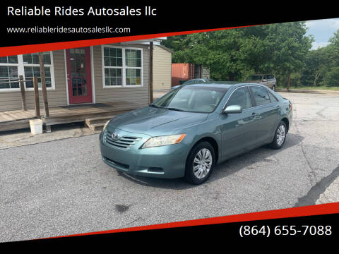 2009 Toyota Camry for sale at Reliable Rides Autosales llc in Greer SC
