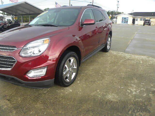 2016 Chevrolet Equinox for sale at VANN'S AUTO MART in Jesup GA