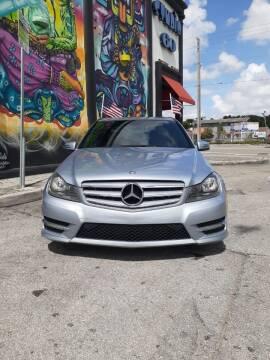 2013 Mercedes-Benz C-Class for sale at Rosa's Auto Sales in Miami FL
