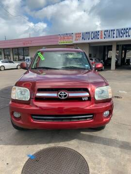 2006 Toyota Sequoia for sale at Eshaal Cars of Texas in Houston TX