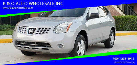 2009 Nissan Rogue for sale at K & O AUTO WHOLESALE INC in Jacksonville FL