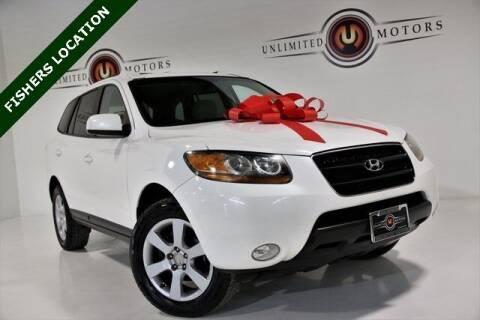 2009 Hyundai Santa Fe for sale at Unlimited Motors in Fishers IN
