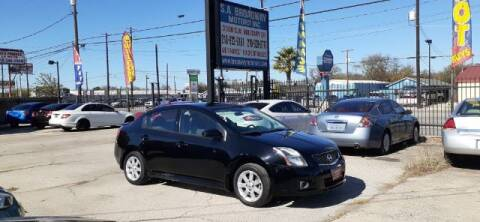 2012 Nissan Sentra for sale at S.A. BROADWAY MOTORS INC in San Antonio TX