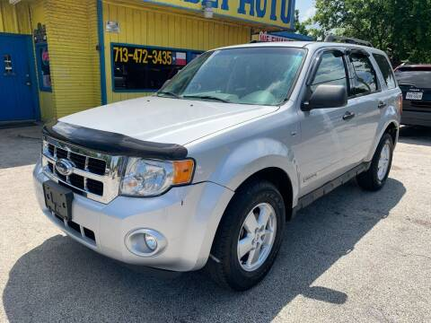 2008 Ford Escape for sale at Friendly Auto Sales in Pasadena TX