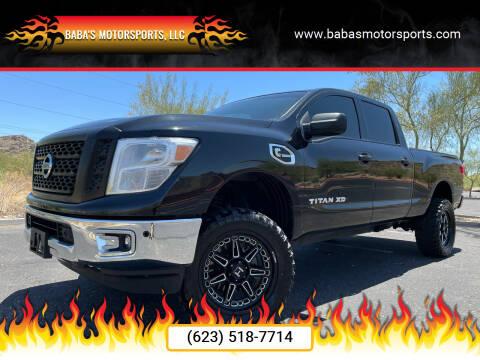 2018 Nissan Titan XD for sale at Baba's Motorsports, LLC in Phoenix AZ