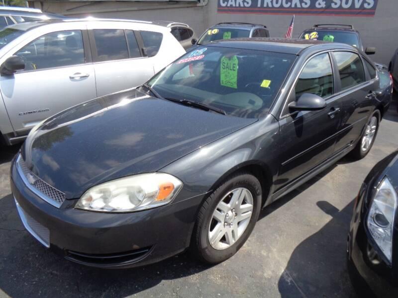 2012 Chevrolet Impala for sale at Aspen Auto Sales in Wayne MI