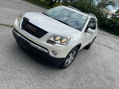 2011 GMC Acadia for sale at Supreme Auto Gallery LLC in Kansas City MO