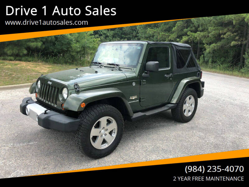 2008 Jeep Wrangler for sale at Drive 1 Auto Sales in Wake Forest NC