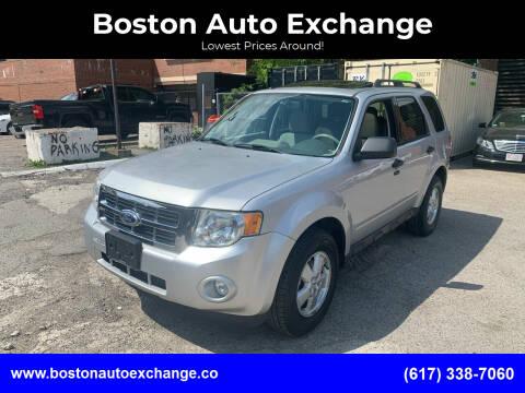 2011 Ford Escape for sale at Boston Auto Exchange in Boston MA
