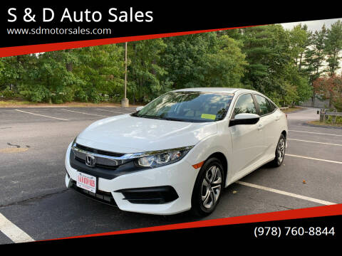 2016 Honda Civic for sale at S & D Auto Sales in Maynard MA