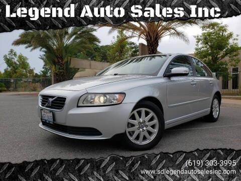 2008 Volvo S40 for sale at Legend Auto Sales Inc in Lemon Grove CA