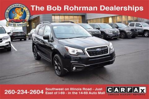 2018 Subaru Forester for sale at BOB ROHRMAN FORT WAYNE TOYOTA in Fort Wayne IN