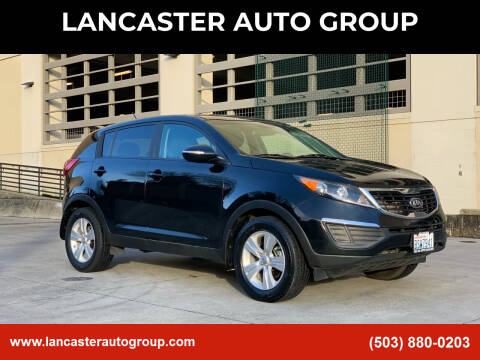 2016 Kia Sportage for sale at LANCASTER AUTO GROUP in Portland OR