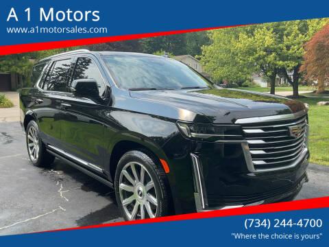 2021 Cadillac Escalade for sale at A 1 Motors in Monroe MI