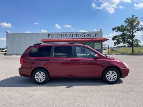 2012 Kia Sedona for sale at PHOENIX AUTO GROUP in Belton TX