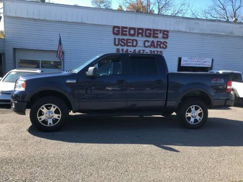 2005 Ford F-150 for sale at George's Used Cars Inc in Orbisonia PA