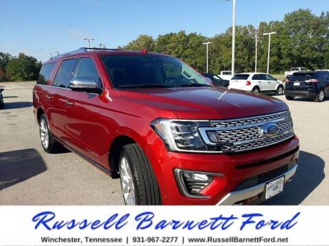 2019 Ford Expedition MAX for sale at Oskar  Sells Cars in Winchester TN
