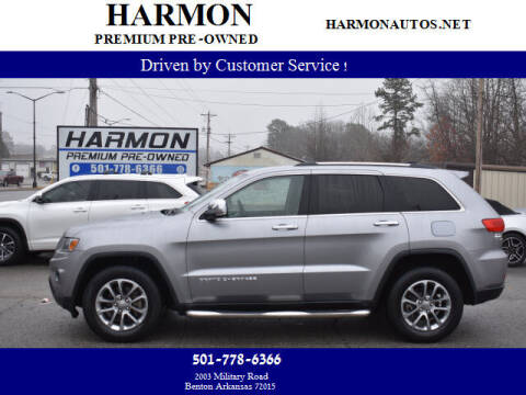 2015 Jeep Grand Cherokee for sale at Harmon Premium Pre-Owned in Benton AR