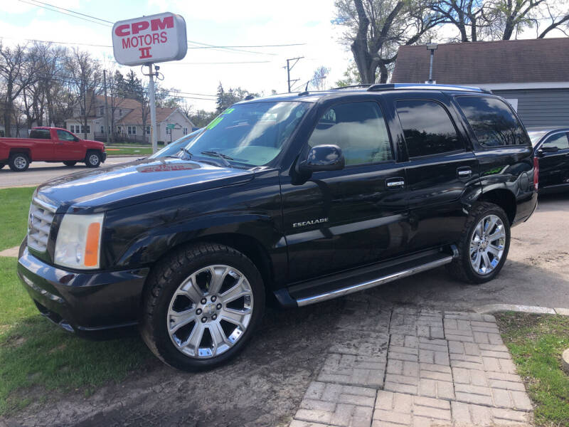 2004 Cadillac Escalade for sale at CPM Motors Inc in Elgin IL