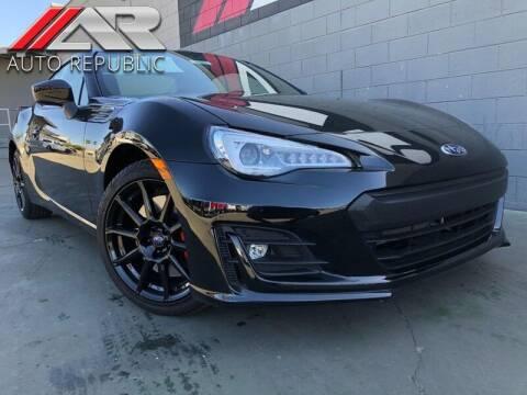 2020 Subaru BRZ for sale at Auto Republic Fullerton in Fullerton CA