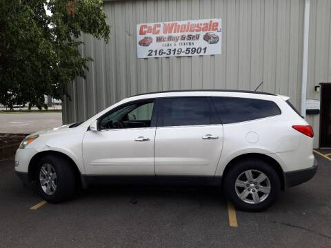 2011 Chevrolet Traverse for sale at C & C Wholesale in Cleveland OH