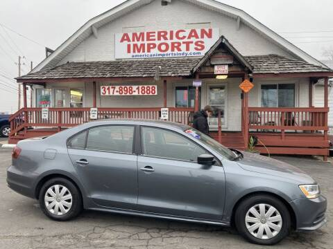 2016 Volkswagen Jetta for sale at American Imports INC in Indianapolis IN